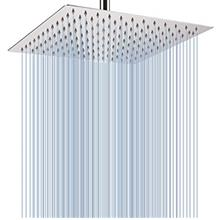 ~ Rain Shower Head - Voolan 12 Inches Large Rainfall Shower Head Made of 304 S