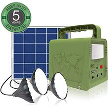 ~ WAWUI Portable Power Station, Solar Generator with Solar Panel & Flashlight