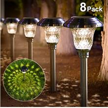 (FROM USA)BEAU JARDIN Solar Lights Bright Pathway Outdoor Garden Stake