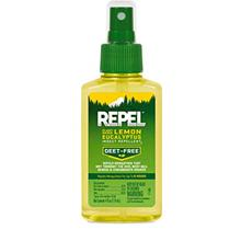 (FROM USA) REPEL Plant-Based Lemon Eucalyptus Insect Repellent, Pump Spray, 4-