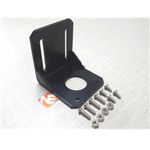 Stepper Motor NEMA Mounting Bracket Black For CNC 3D Printer