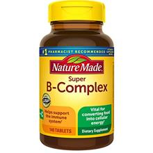 (FROM USA) Nature Made Super B-Complex with Vitamin C Tablets, 140 Count Value
