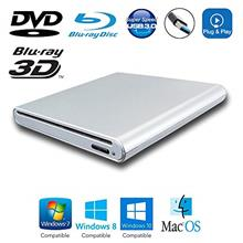 [USAmall] USB 3.0 Portable External 3D Blu-ray Movies CD and DVD Disc Players,