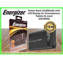 Energizer Power Bank 10,000mAh with LCD Display for Smartphones, Table