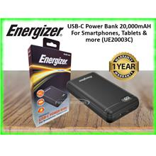 Energizer USB-C Power Bank 20,000mAH For Smartphones, Tablets  & more (