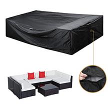 (FROM USA) Patio Furniture Set Cover Outdoor Sectional Sofa Set Covers Outdoor