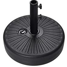 (FROM USA) EliteShade Umbrella Base Water Filled Stand Market Patio Outdoor He