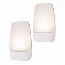(FROM USA) GE LED Night Light, 2 Pack, Plug-In, Dusk-to-Dawn Sensor, Home Déc