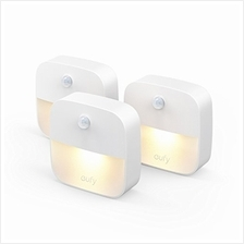 (FROM USA) eufy by Anker, Lumi Stick-On Night Light, Warm White LED, Motion Se