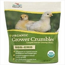 (FROM USA) Manna Pro Organic Grower Crumbles