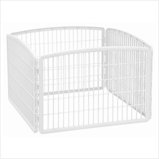 (FROM USA) IRIS 24'' Exercise 4-Panel Pet Playpen Without Door
