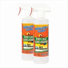 (FROM USA) Absolutely Clean Amazing Bird Cage Cleaner and Deodorizer - Just Sp