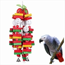 (FROM USA) KinTor Bird Chewing Toy Large Medium Parrot Cage Bite Toys African
