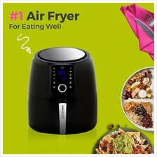 Simple Living Products SL-AFD2-5L Air Fryer, XL, Black