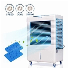 DUOLANG 2647 CFM Indoor Outdoor Evaporative Air Cooler - 3 Modes/Speeds Portab