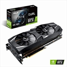 ASUS GeForce RTX 2080 O8G Dual-fan OC Edition GDDR6 HDMI DP 1.4 USB Type-C gra