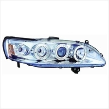 IPCW CWS-712C2 Honda Accord Chrome Projector Head Lamp with Rings - Pair
