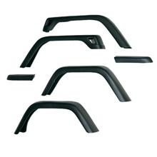 "Rugged Ridge 11608.01, 7 "" Wide Fender Flare without Hardware, 6 Piece Ki"
