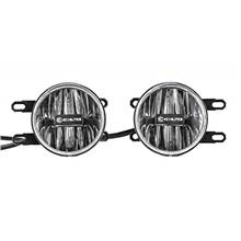 KC HiLiTES 501 Gravity G4 Amber LED Fog Light - Pair Pack System