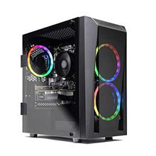 SkyTech Blaze II Gaming Computer PC Desktop – Ryzen 5 2600 6-Core 3.4 GHz, N