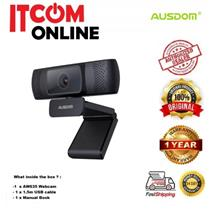 AUSDOM MICROPHONE 1080P FULL HD BUILT-IN WEBCAM (AF640)