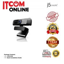 J5 CREATE 1080P FULL HD COME WITH 360''ROTATION BUILT-IN MICROPHONE WEBCAM (JV