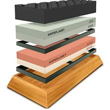 (FROM USA) Knife Sharpening Stone Set – 400/1000 and 3000/8000-Grit Professi