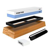 (FROM USA) Knife Sharpening Stones, Thetis 1000/6000 Grits Whetstone Set - Kni