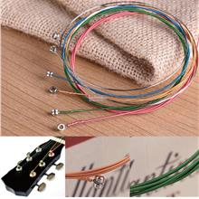 Guitar String Acoustic Colour Rainbow Set