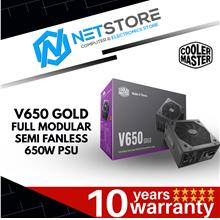 Cooler Master V650 GOLD Full-Modular Semi Fanless 80PLUS Power Supply