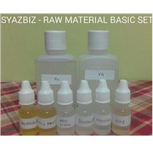 RAW MATERIAL BASIC SET for DIY E JUICE, E LIQUID, E CIGERETTE