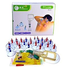 - Original Kangzhu 24-Cup Biomagnetic Chinese Cupping Therapy Set
