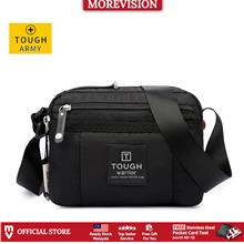 Tough Warrior Sling Bag Black Messenger Bag Crossbody Chest Beg