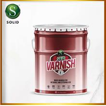 SOLID VARNISH (Wood Varnish For Internal And External Use) 5 liter