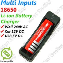 LI-MIC01 Multi Inputs 18650 Li-ion Battery Charger