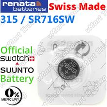 RENATA 315 SR716SW Silver Oxide Battery (Low Drain)