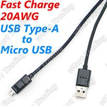 20AWG Fast Charge Micro USB Cable