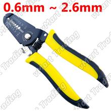 Spring Loaded Wire Stripper / Cutter [0.6~2.6mm]