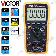 VICTOR 86B Digital Multimeter with Real-time USB Data Logging