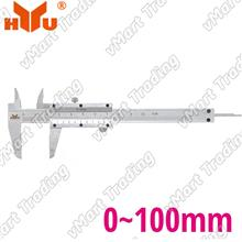HYU101 High Accuracy Vernier Caliper 0-100mm