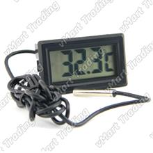 Panel Mount Digital Thermometer with waterproof sensor 1M/2M/3M