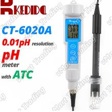 KEDIDA CT-6020A Digital pH Meter Tester Kit with ATC