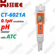 KEDIDA CT-6021 Digital pH Meter Tester Kit with ATC