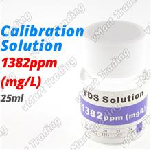 1382 ppm (mg/L) TDS Calibration Solution