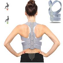 Posture Corrector for Women and Men Under Clothes, Upgraded Upper Back Support