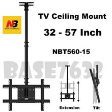 NB T560-15 32 to 57 Inch LCD TV Wall Ceiling Mount Bracket 1759.1