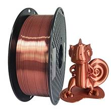 . Silk Shiny Red Copper PLA 3D Printer Filament 1.75mm 1KG 2.2LBS Spool Widely