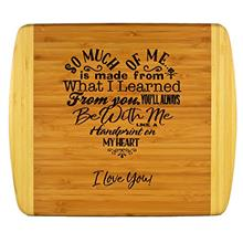 ...Fast Delivery Mothers Gift – Special Love Heart Poem Bamboo Cutting Board