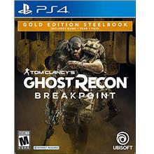...Fast Delivery Tom Clancy's Ghost Recon Breakpoint Steelbook Gold Edition -