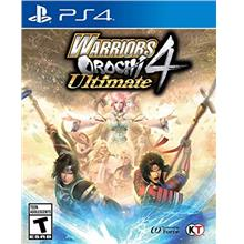 ...Fast Delivery WARRIORS OROCHI 4 Ultimate - PlayStation 4